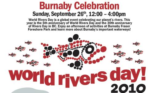 Burnaby Celebrates World Rivers Day