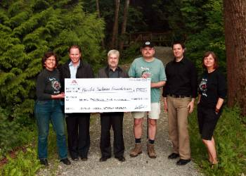 Adera donates $10,000 to Byrne Creek Streamkeepers